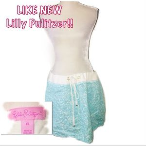 • LILLY PULITZER | LIKE NEW | Drawstring Skirt •